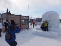 北見冬まつり 雪像写真撮影(2日目) (1)