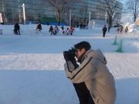 北見冬まつり 雪像写真撮影(1日目) (9)