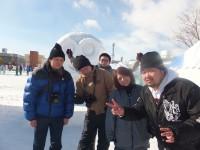北見冬まつり 雪像写真撮影(2日目) (4)